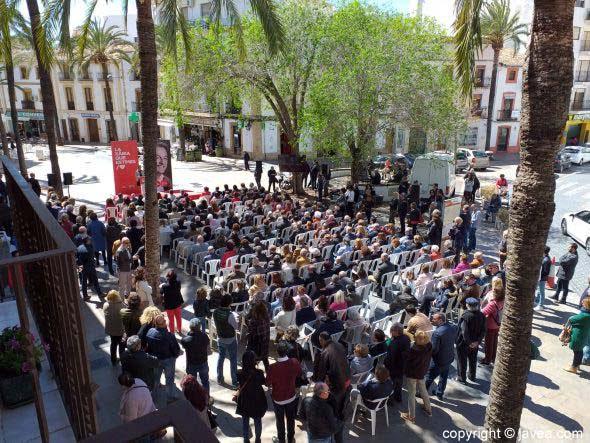 Acto PSOE Xàbia. Presentación de la Candidatura
