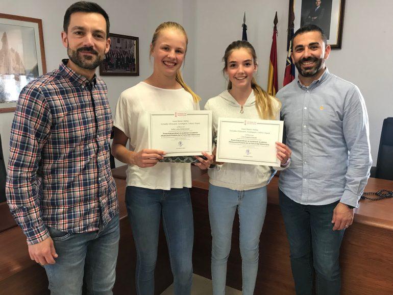 Studenten bekroond voor hun academisch record