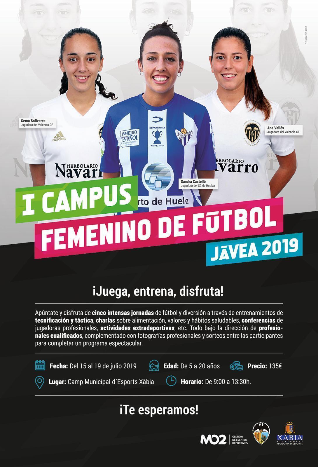 Campus de Fútbol Femenino en Xàbia