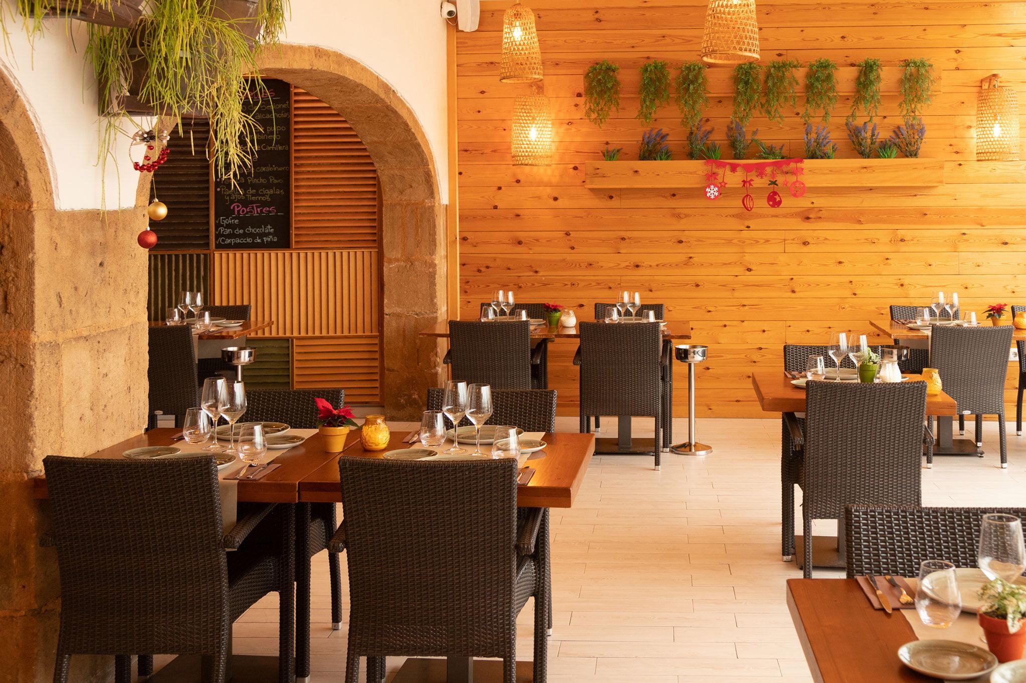 Comedor de Restaurante Posidonia