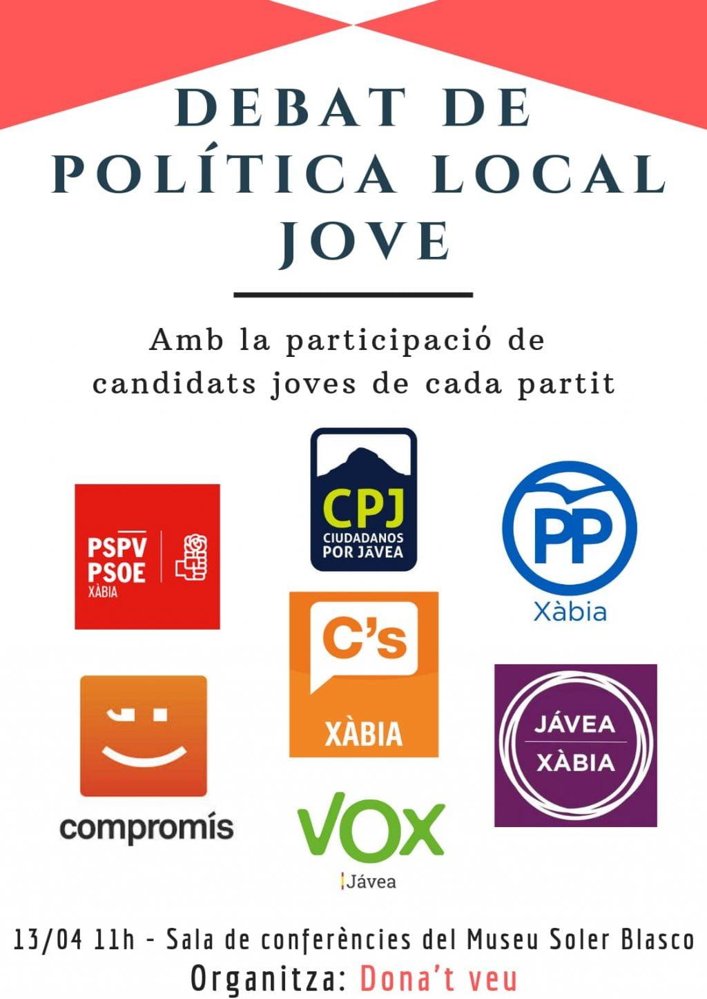 Debate política local sobre juventud