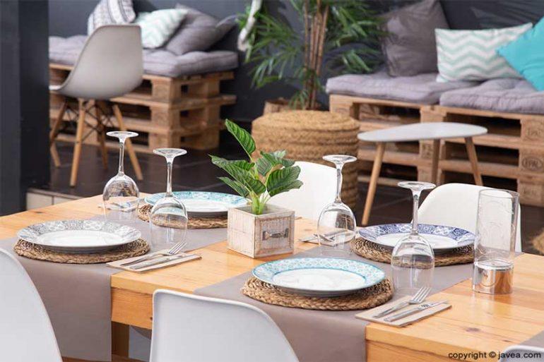 Decoración moderna - Restaurante SeeMontgó