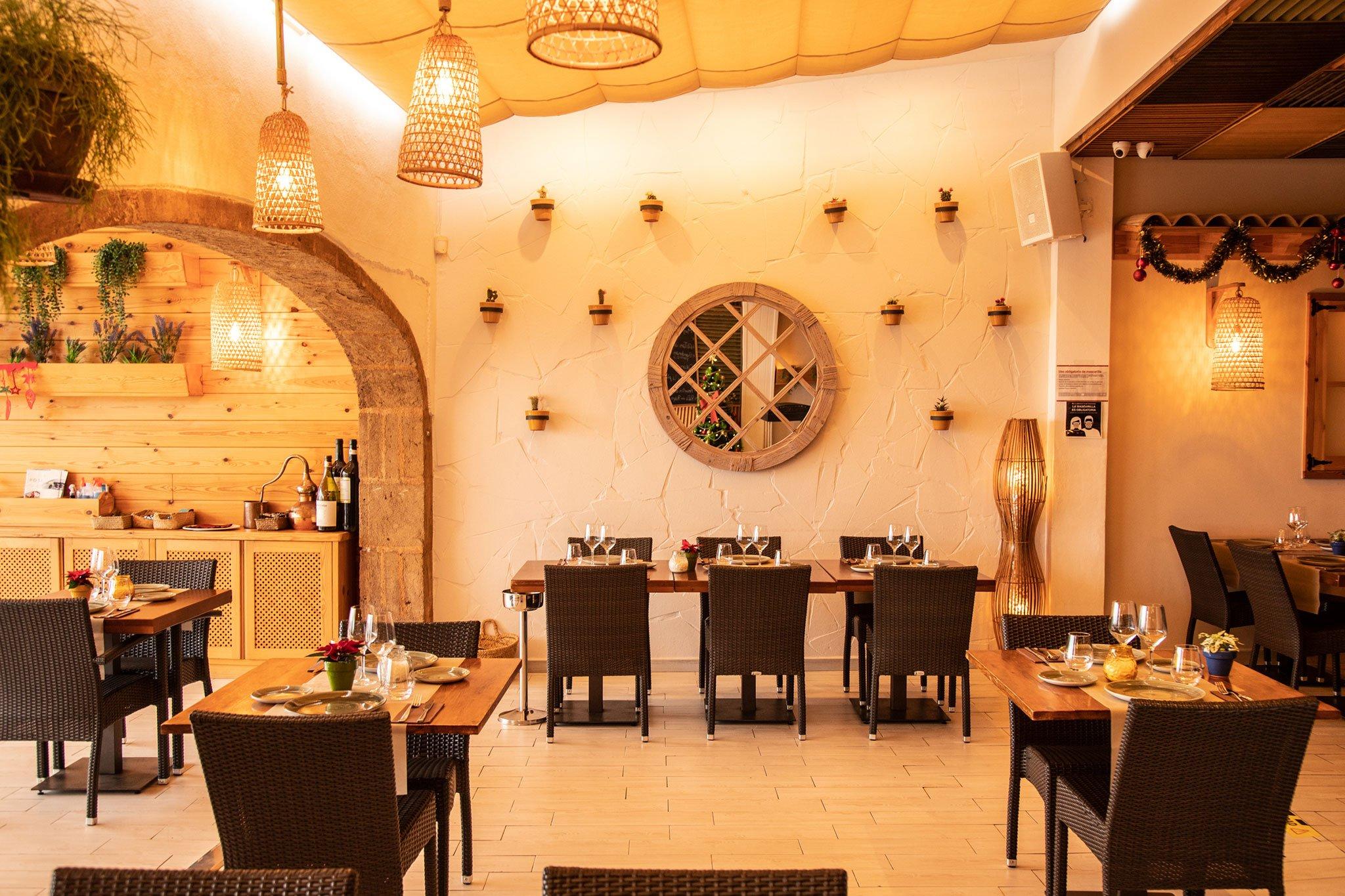 Decoración de Restaurante Posidonia