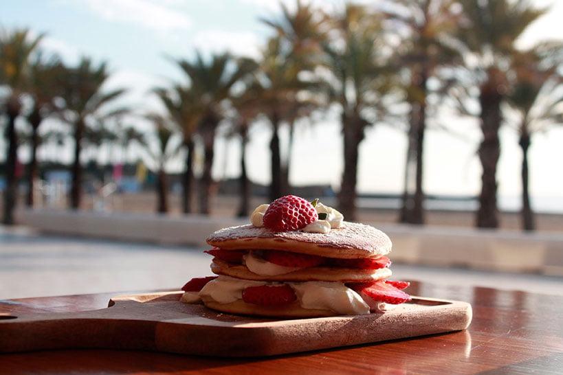 Desayunar en el Arenal Restaurante Posidonia