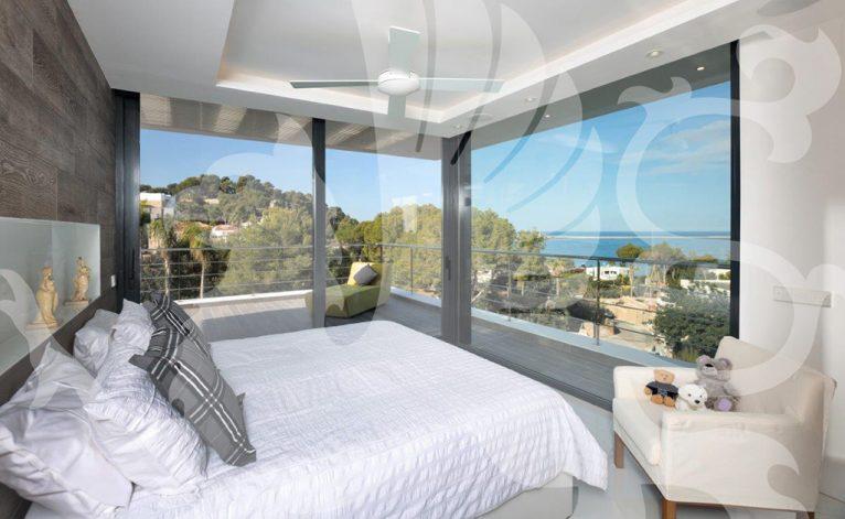 Dormitorio villa Stirling Ackroyd Spain
