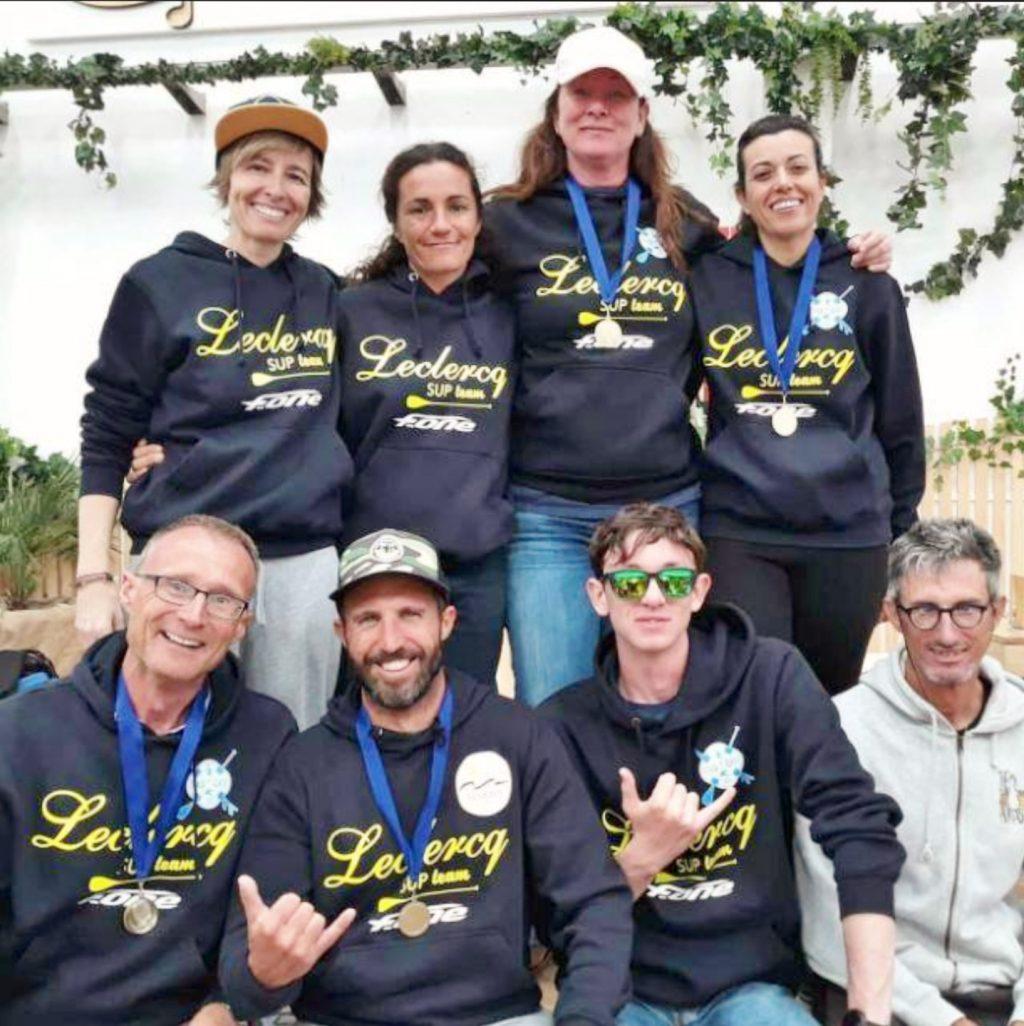 El equipo Leclercq SUP Team