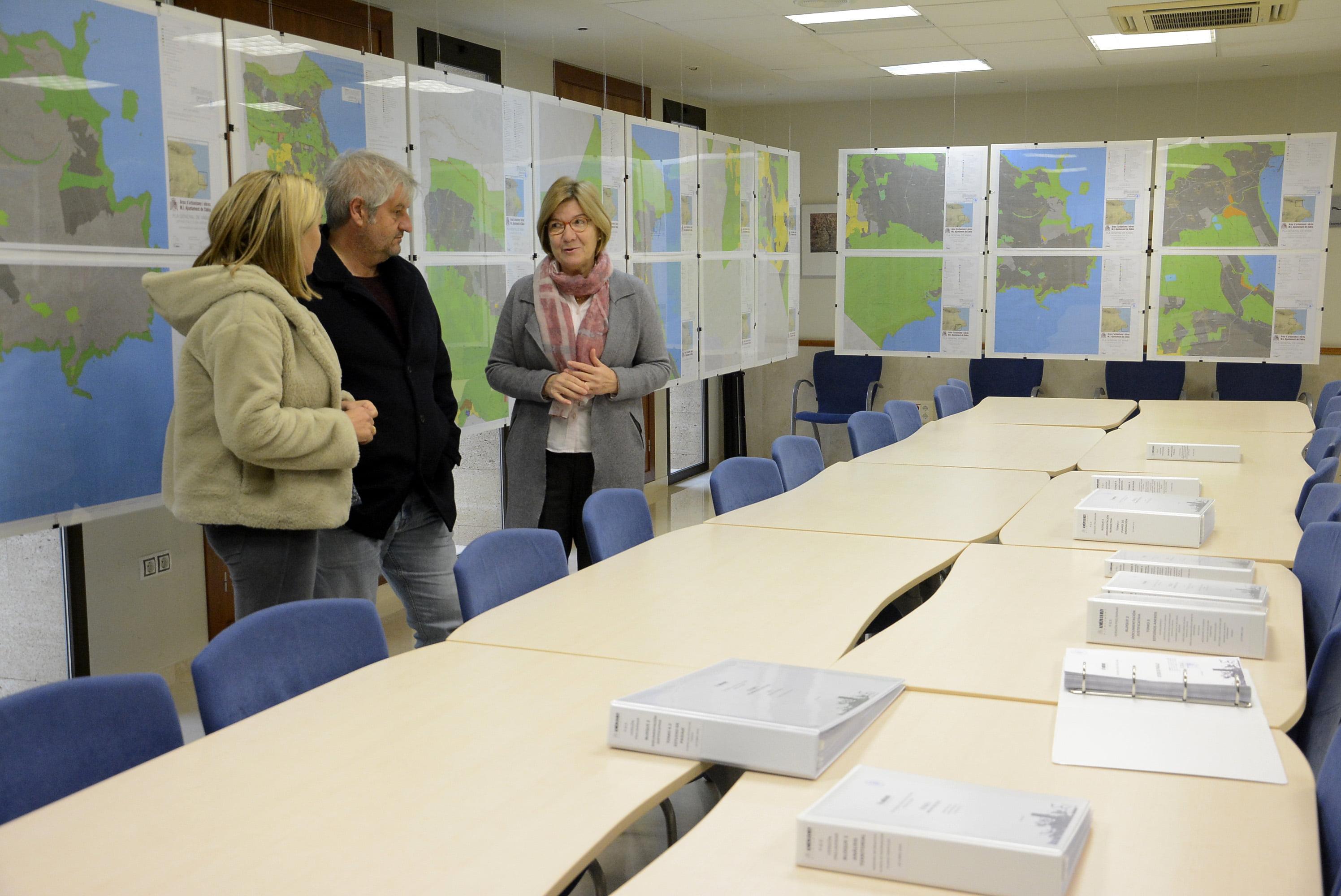 Exposición Plan General Estructural de Xàbia
