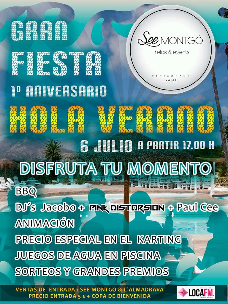 Gran Fiesta del Verano Jávea – Restaurante SeeMontgó