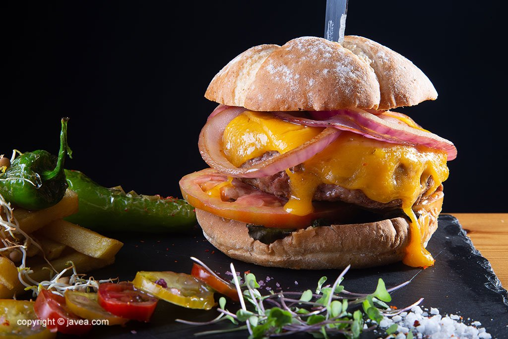 Hamburguesa gourmet – Restaurante SeeMontgó