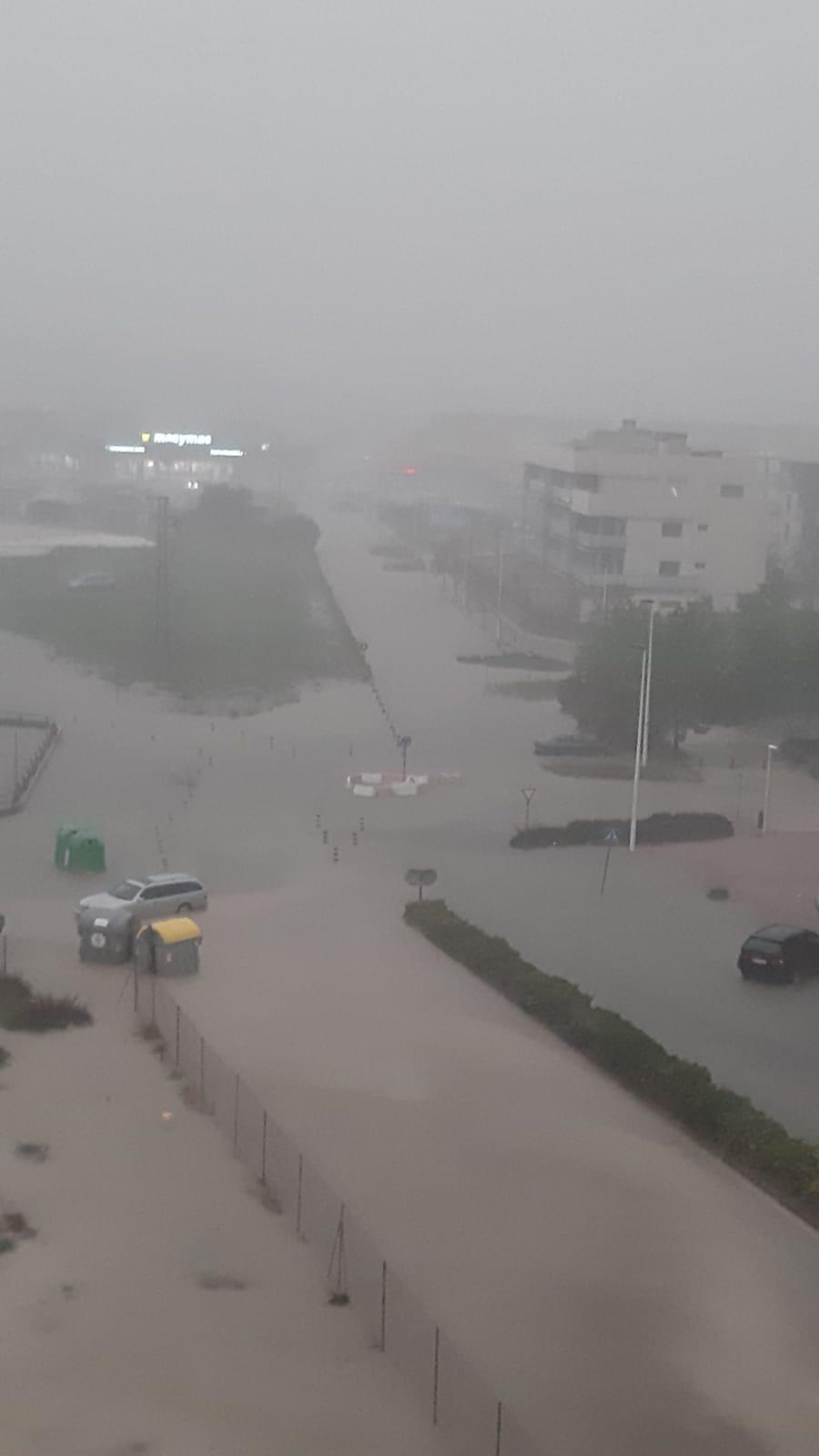 Lluvia en Xàbia
