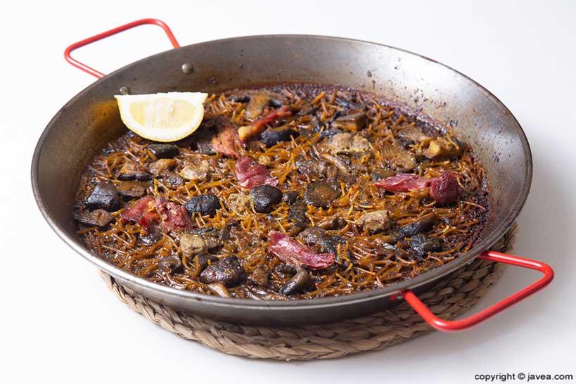 Paella de pato – Restaurante SeeMontgó