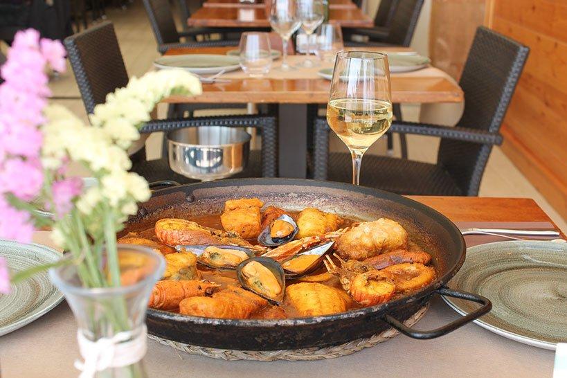 Pescado fresco Restaurante Posidonia