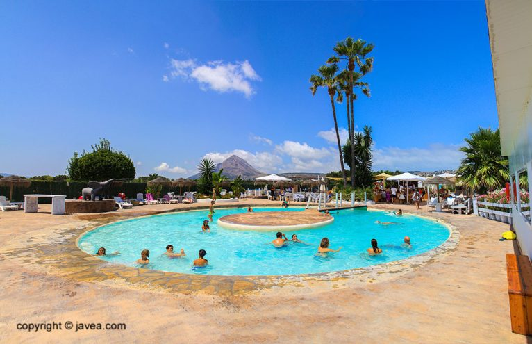 Restaurant amb piscina a Xàbia - Restaurant SeeMontgó