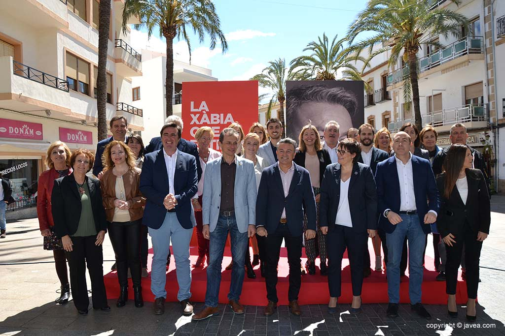 Presentación candidatura PSOE Xàbia 2019