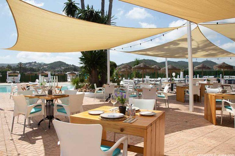 Restaurante con terraza - Restaurante SeeMontgó