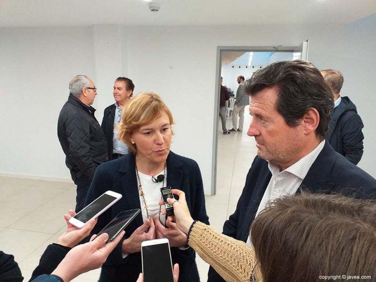 Rosa Cardona e Pepe Císcar participam da mídia