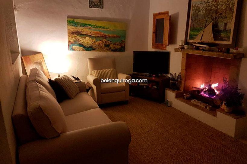Sala de estar Casa Campo Real Estate Belen Quiroga