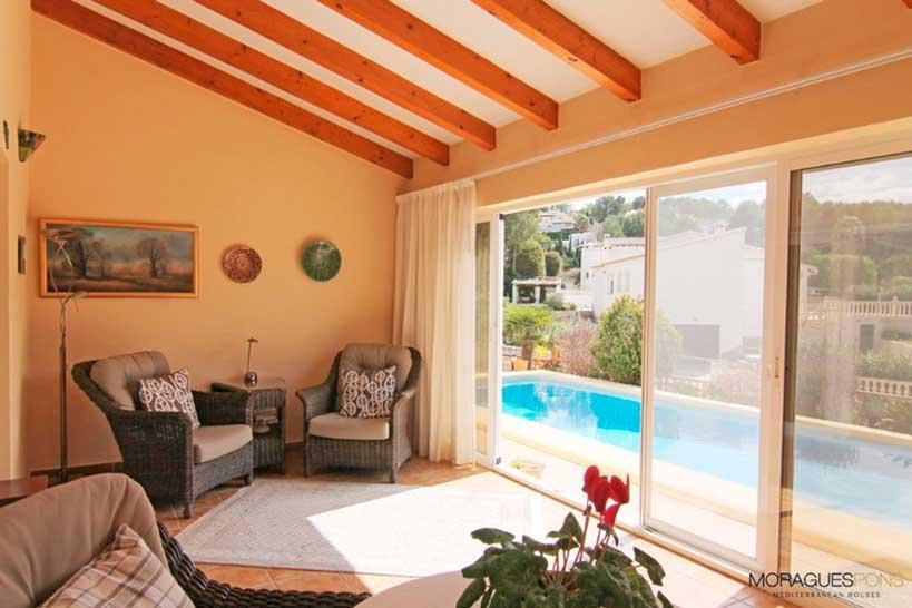 Terraza Villa Tranquila Jávea Moragues Pons Mediterranean Houses