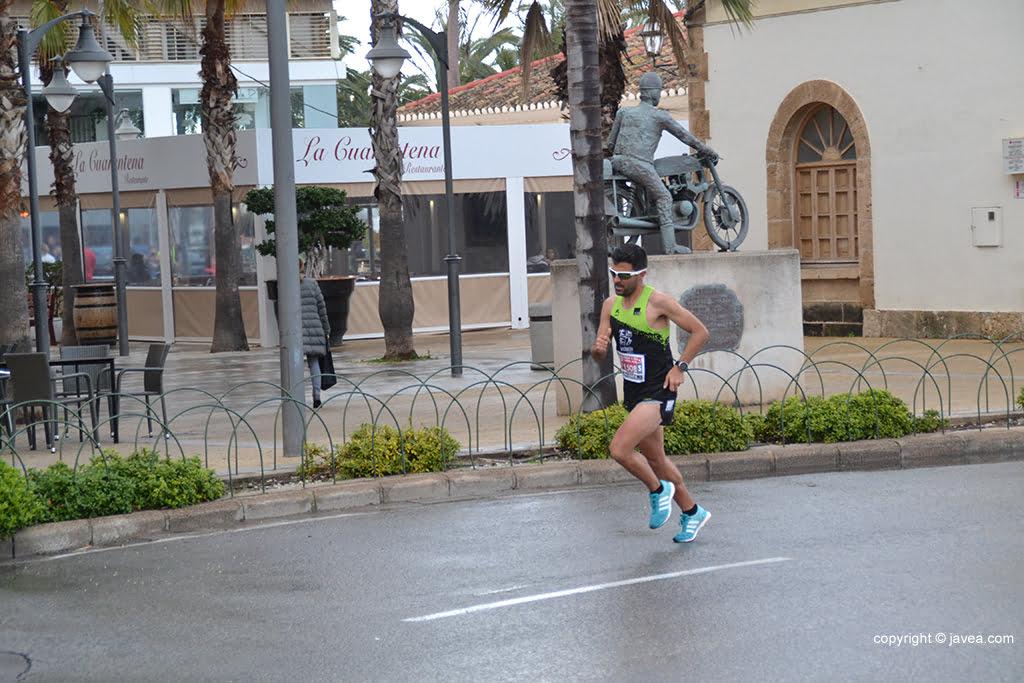 Toni Soler durante la carrera