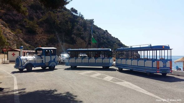 Trenet turístico a la Granadella