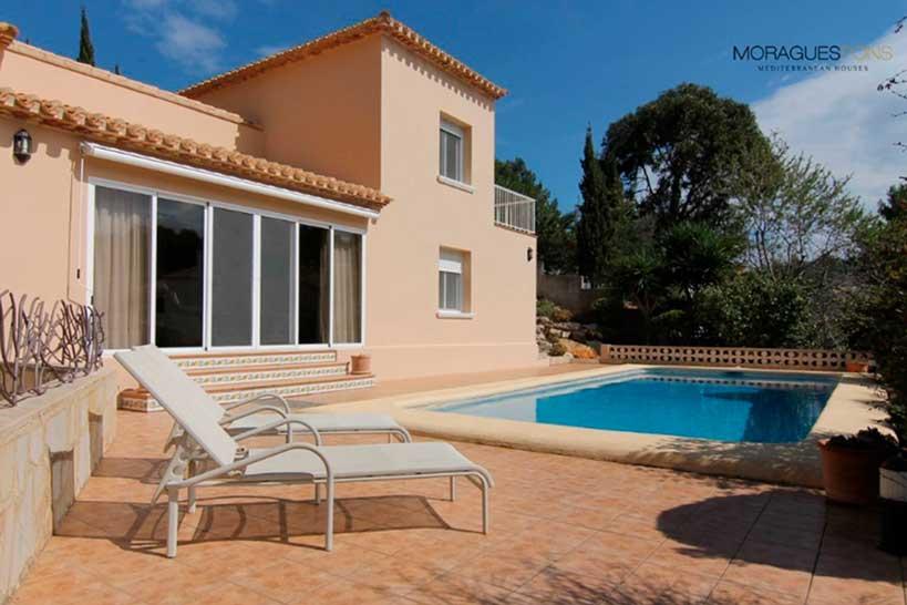 Villa Tranquila Jávea Moragues Pons Mediterranean Houses