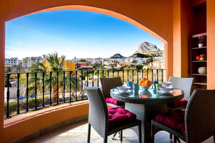 Vistas Apartamento Puerto Aguila Rent a Villa