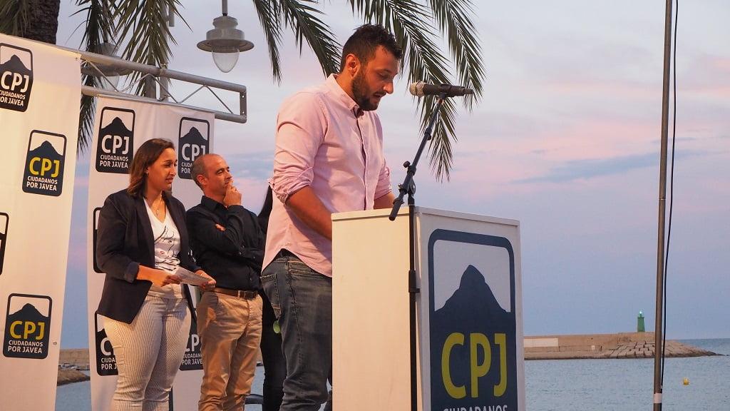 Abel Moll - Míting Port Ciutadans per Xàbia