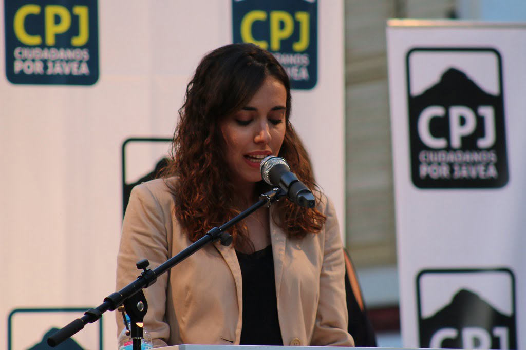 Aurora Ferrer - Míting Placeta Ciutadans per Xàbia