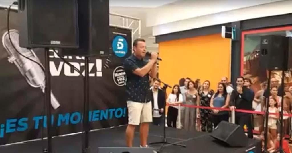 Bisku actuant en Guanya amb la teva veu
