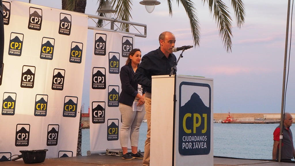 César Rodríguez - Míting Port Ciutadans per Xàbia