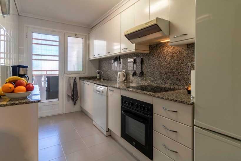 Cuina Apartament Puerto - Vicens Ash Properties