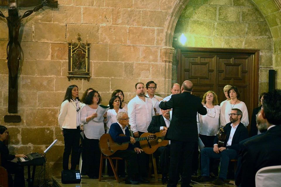 Coro Aduanes en la Misa del Nazareno