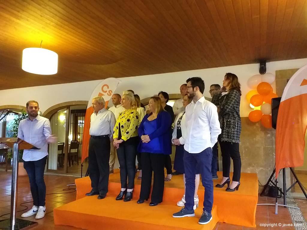 El diputat Jesús Salmerón a l'acte de Ciutadans