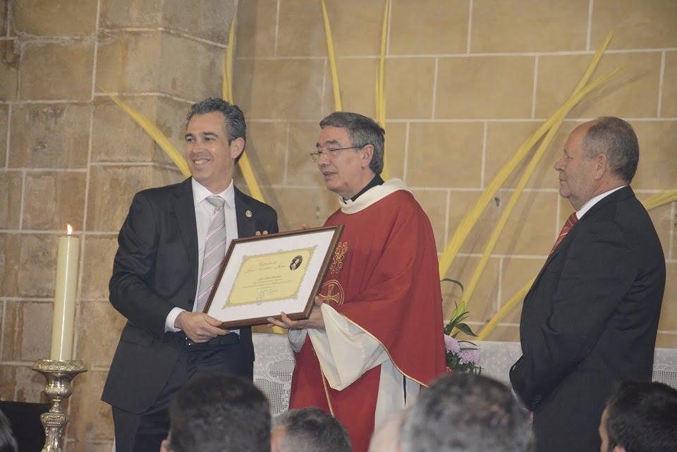 Entrega diploma a los mayorales 2019