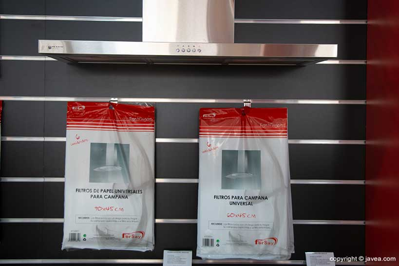Filters for range hood - Fersay Jávea