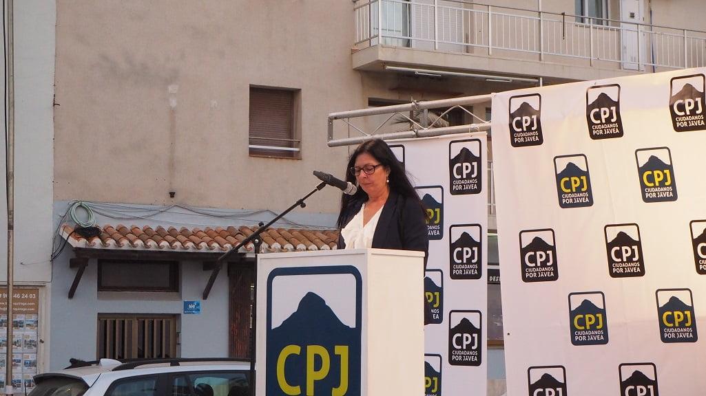 Fini Martí - Míting Port Ciutadans per Xàbia