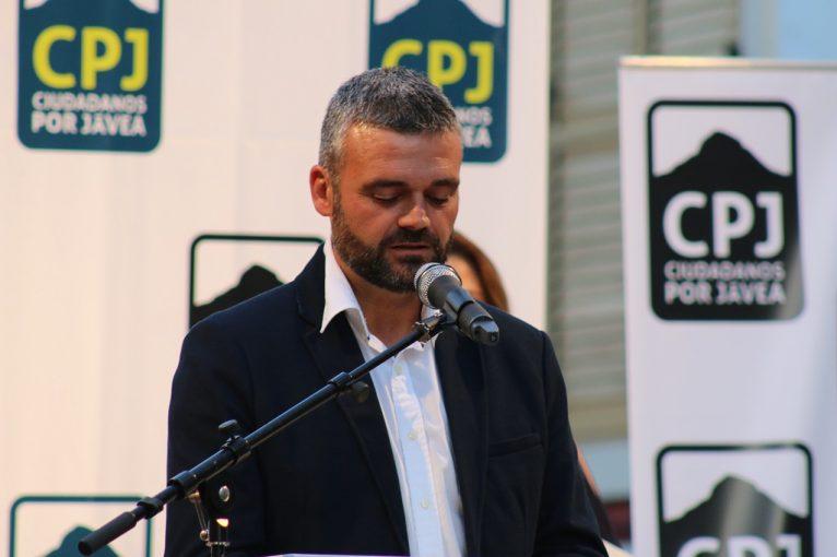 Jaume Escudero - Míting Placeta Ciutadans per Xàbia