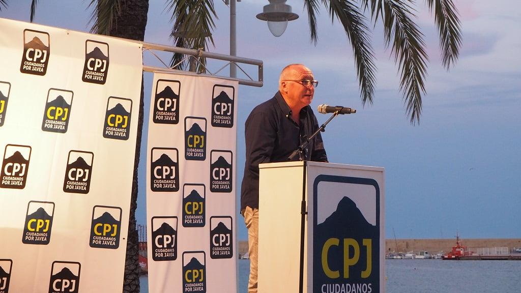 Juan Ortolà - Míting Port Ciutadans per Xàbia