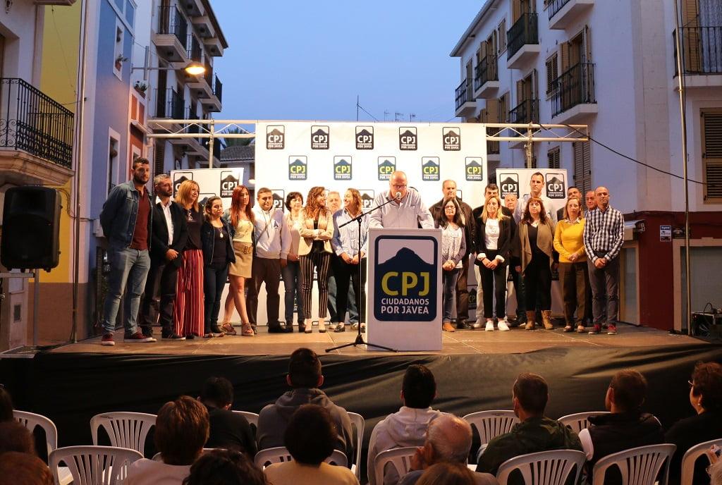 Llista CpJ - Míting Placeta Ciutadans per Xàbia
