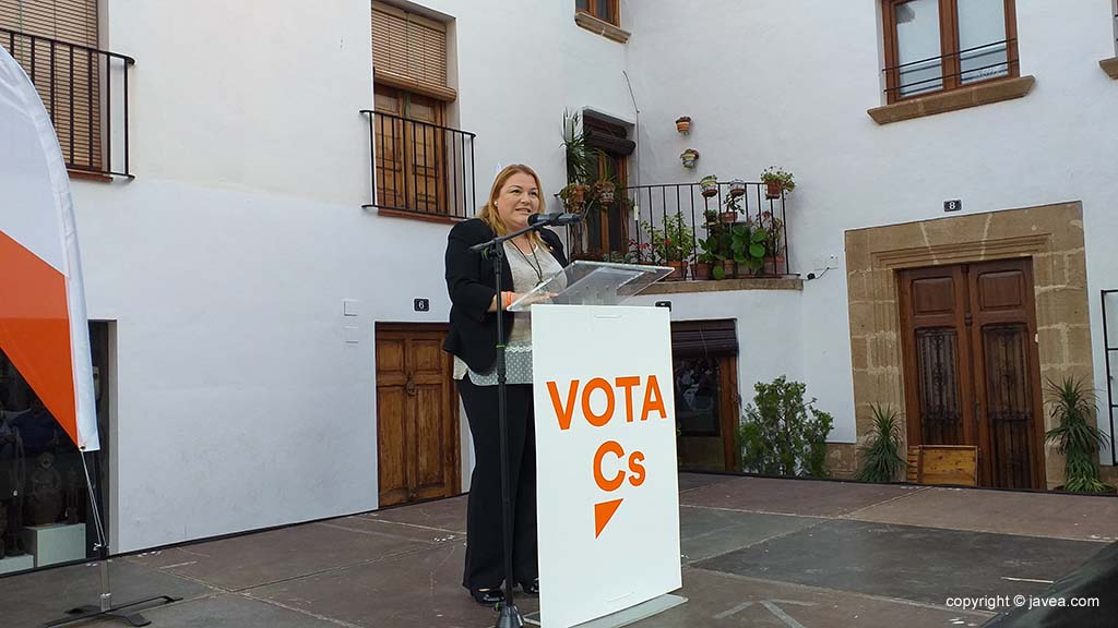 Míting Ciutadans-Ana Silva
