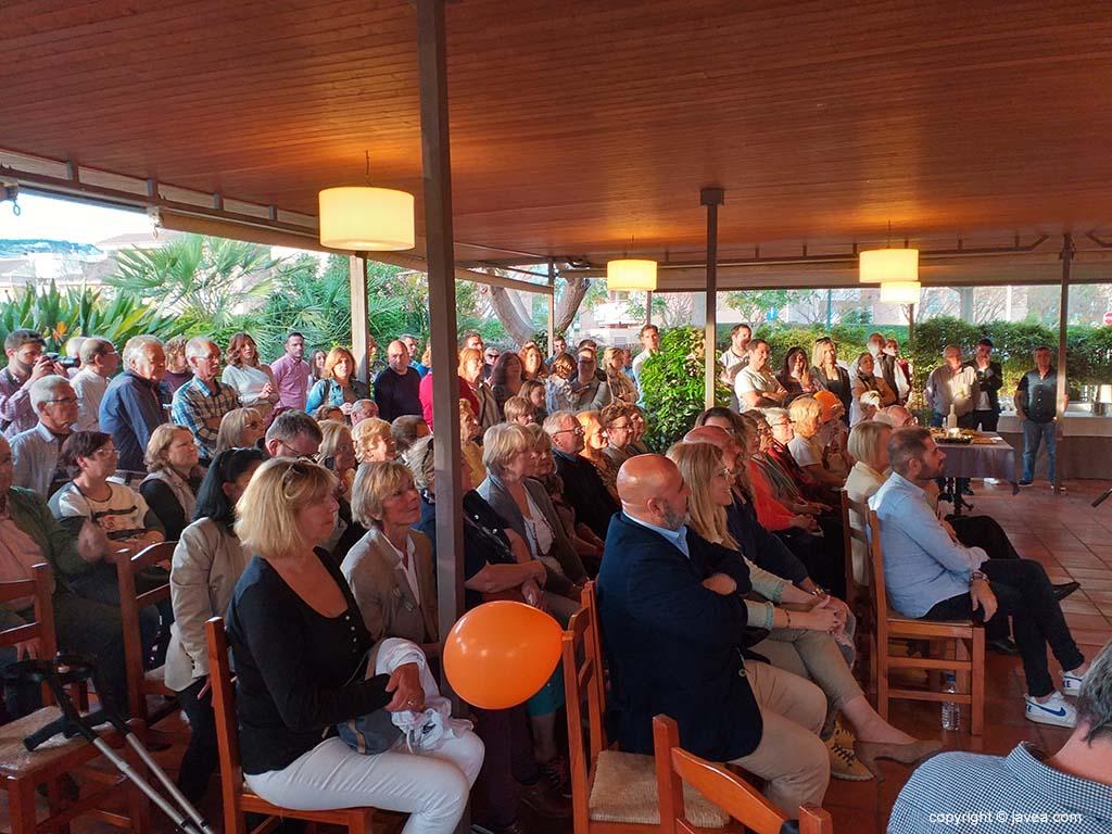 Públic assistents a l'acte de Ciutadans