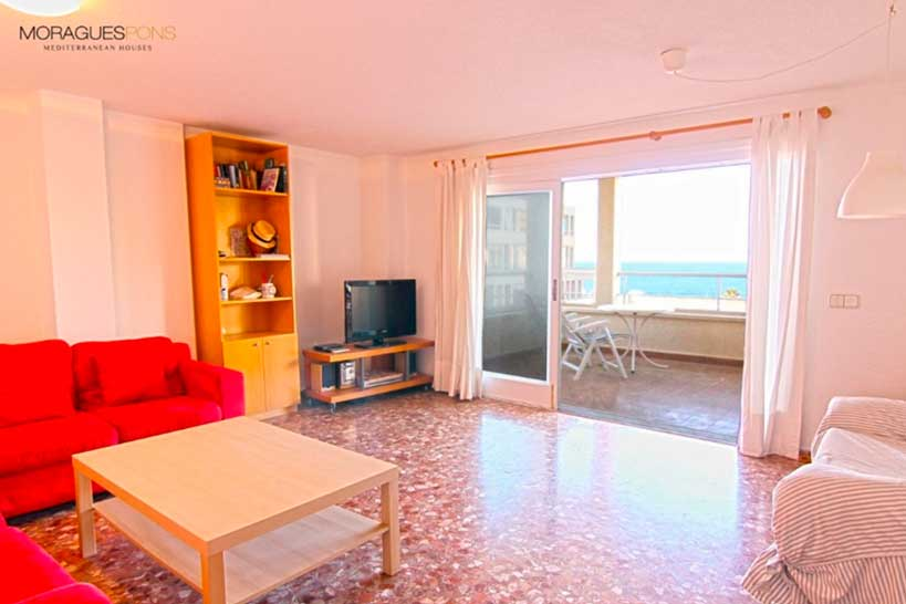 Гостиная Квартира в Хавеа - Moraguespons средиземноморские дома