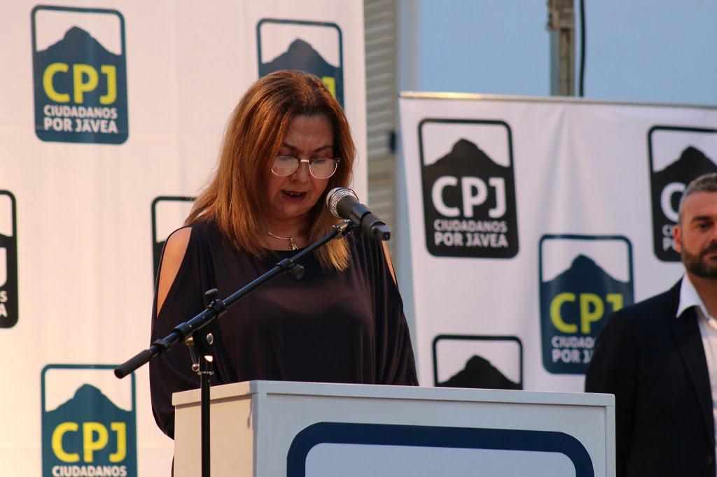 Susana Ern - Míting Placeta Ciutadans per Xàbia