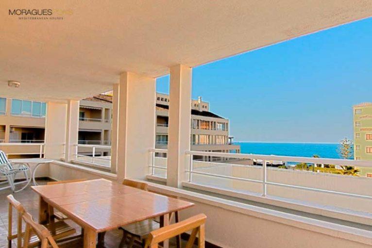 Апартаменты с террасой в Хавеа - Moraguespons средиземноморские дома
