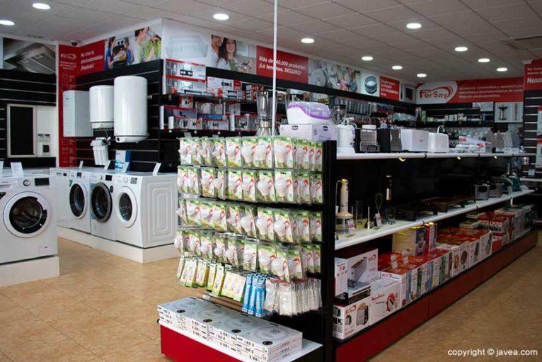 Tienda Electrodomésticos en Jávea - Fersay Jávea