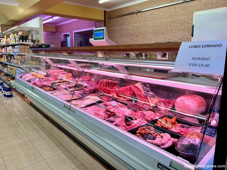 Carniceria en Jávea - Miraltall