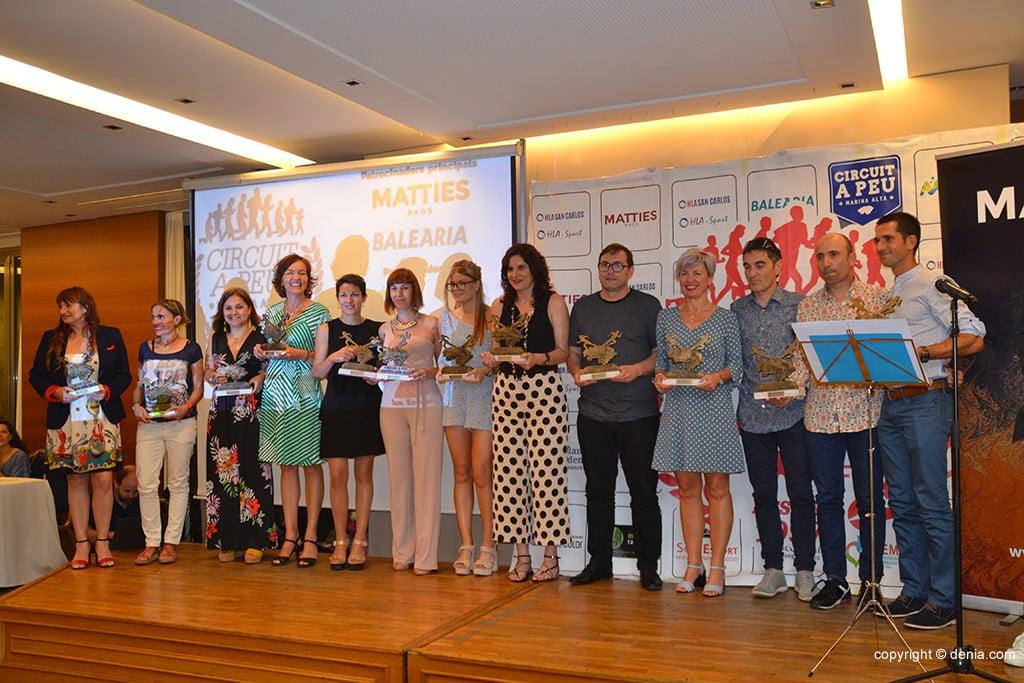 Clubes participantes do Circuito