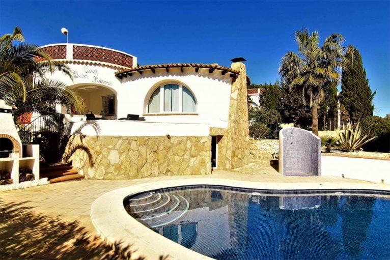 Kaufen in Jávea Chalet Jávea Angebotspreis - MORAGUESPONS Mediterrane Häuser