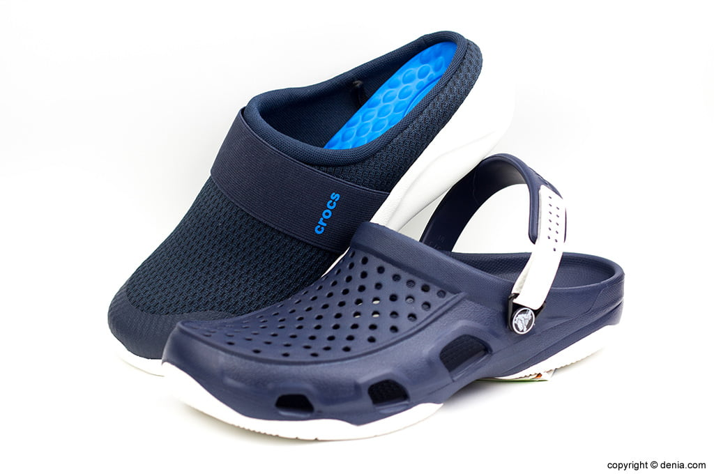 Crocs blaus Calçats Ramon Marsal
