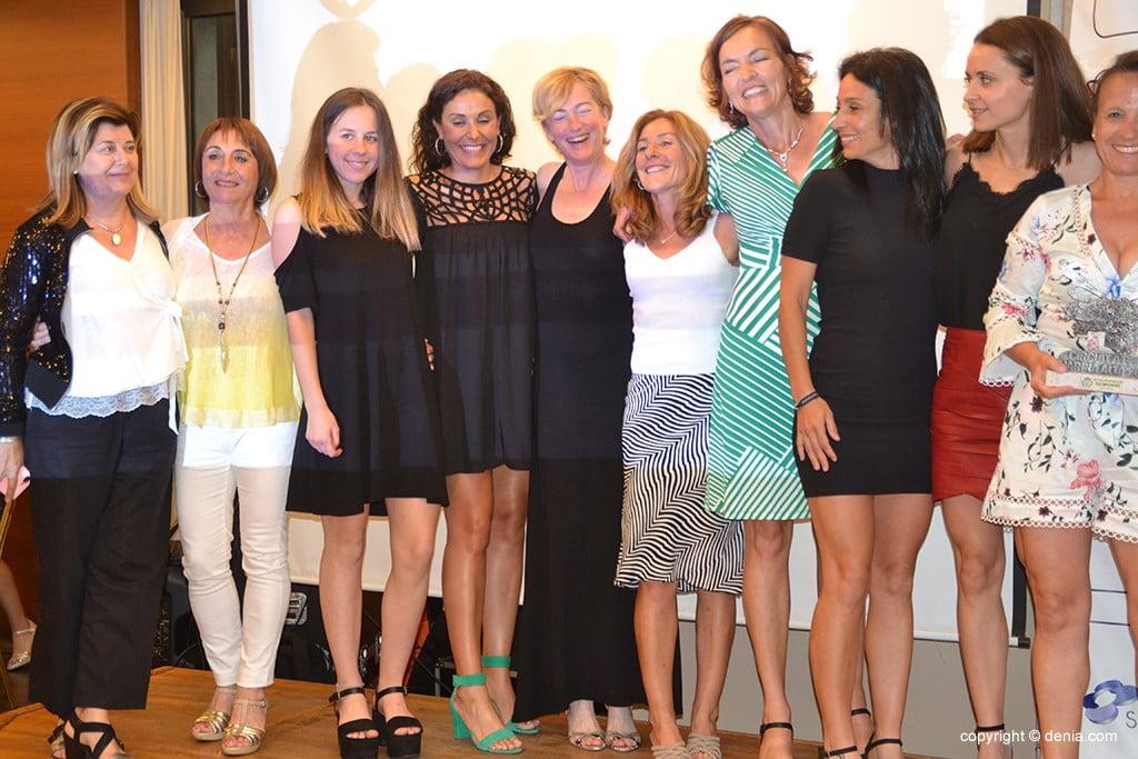 Dénia Corres clube de segunda mulher